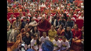His Holiness address to the students of Smile Foundation (Full length)
