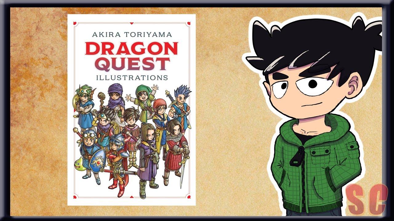 Dragon Quest Illustrations English Translation Art Book Review Akira Toriyama Viz Media Youtube