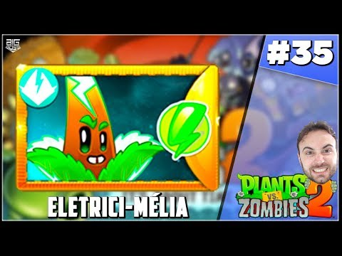 PLANTS Vs. ZOMBIES 2 #35 - GANHEI A PLANTA DO BATALHAZ, ELETRICI-MELIA