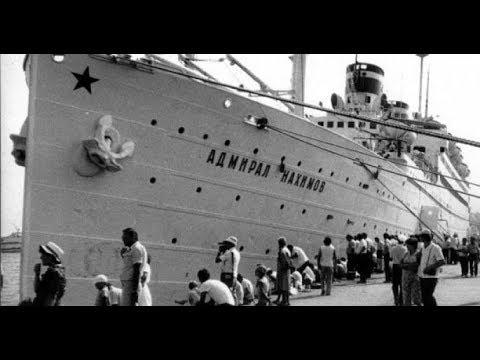 """Некоторые подробности гибели парохода """"Адмирал Нахимов""""1986 год"""