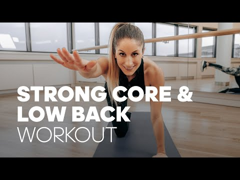 7-Minute Core & Low Back Strengthening Workout to Get Rid of Back Pain