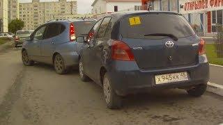 Парковка по-женски Приколы ДТП Семён Слепаков Курица
