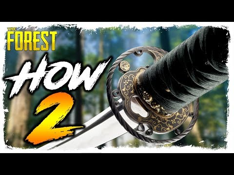 The Forest | HOW TO FIND THE KATANA | Updated Location