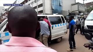 Ugandan Plain Clothese Security Operatives Brutalise Civilian