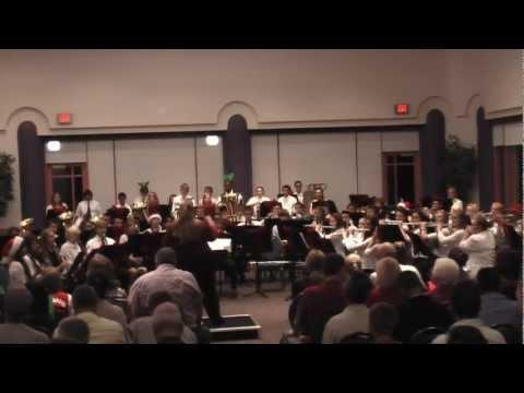 fountain hills high school christmas concert 2012   sing along part one