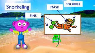 """Planet Peek-A-Boo - Earthy Crunchy Segment - Learn about """"Snorkeling"""" from Fiji"""