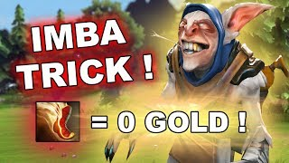Dota 2 Tricks: Boots of Travel FOR FREE! (Only for Meepo)