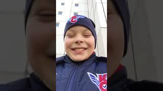 Vlog:мы гуляем с собакой 2 дебила
