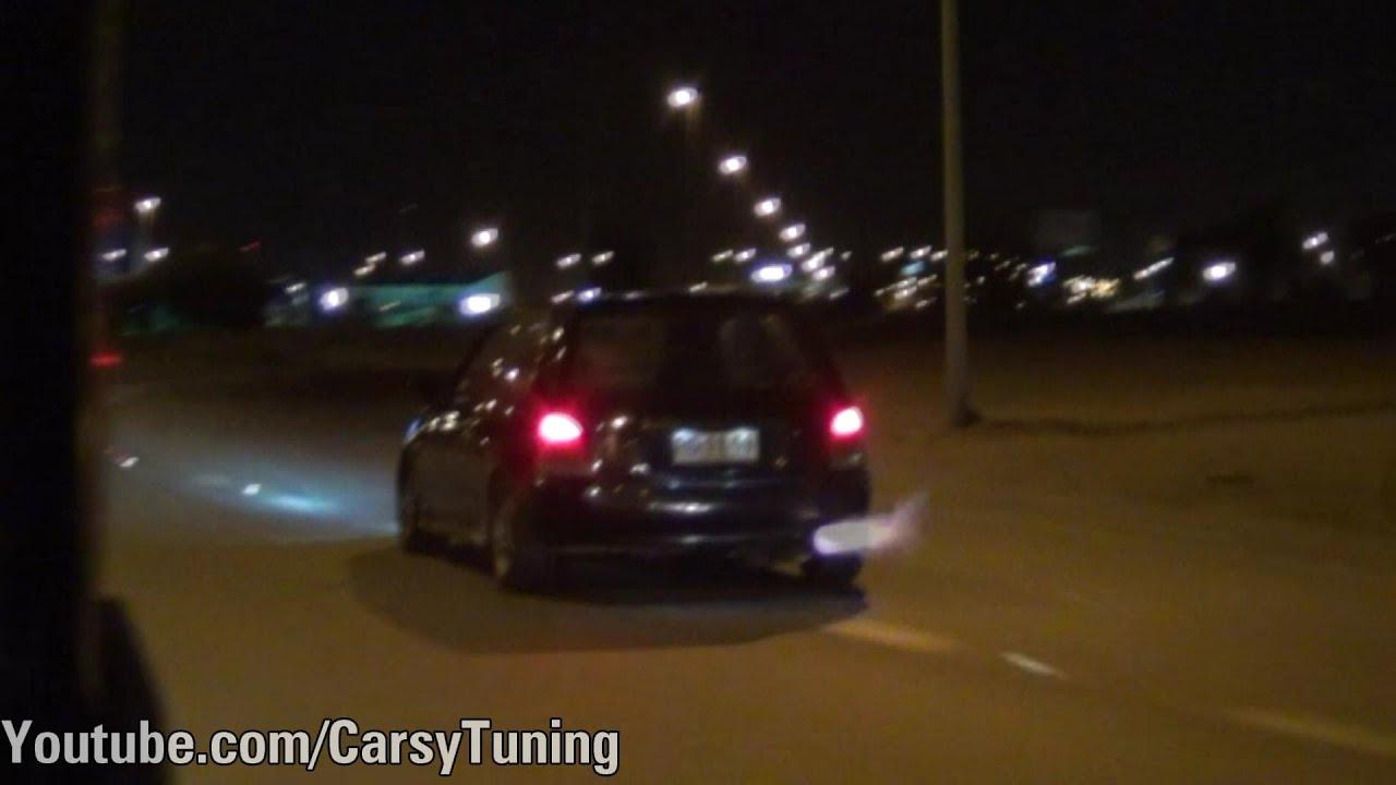 Toyota Starlet Glanza Insane Antilag Flames