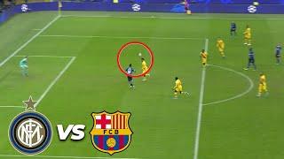 ¡Se salva el Barcelona! | Inter de Milán 1 - 1 FC Barcelona | Champions League - J 6 - Grupo F | TUD