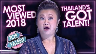 MOST VIEWED Auditions & Performances Thailand's Got Talent 2018! Top Talent