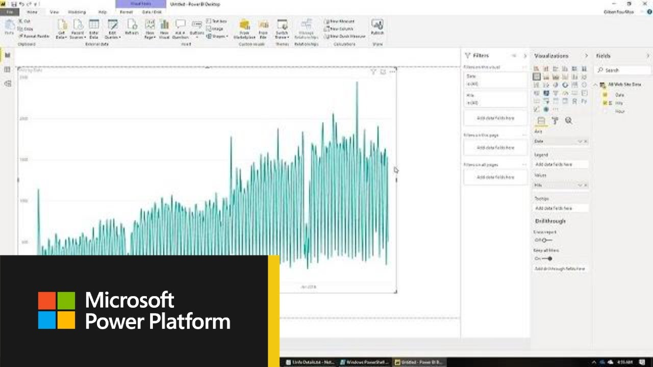Microsoft Power BI: Real-time dashboard with Google Analytics Realtime API  - BRK3065