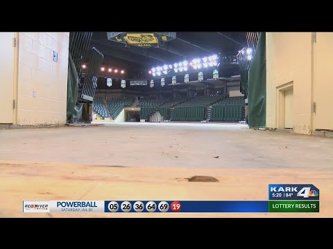 Basketball court ripped up at Alma High School, costing $250K