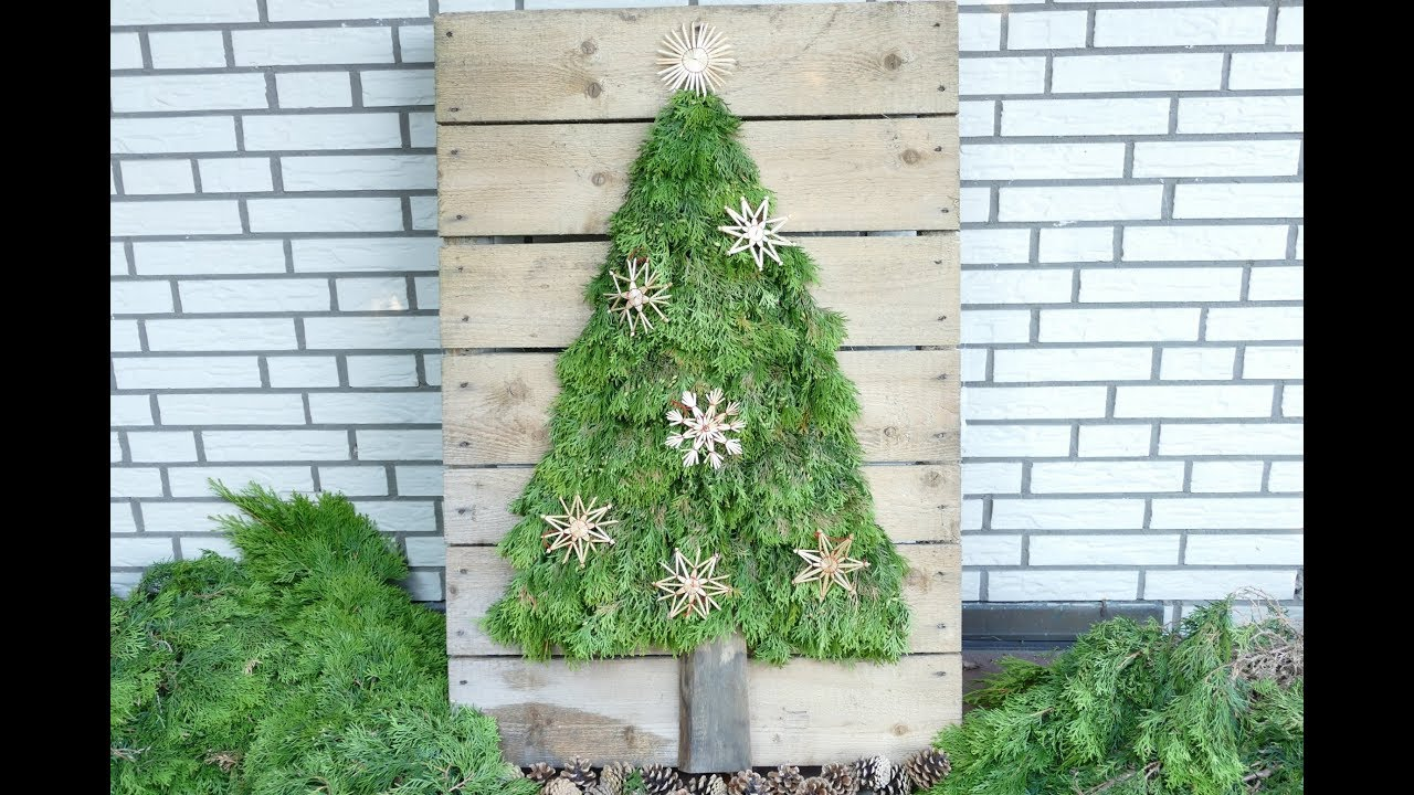 Xxl Tanne Basteln Und Unterschiedlich Gestalten Weihnachtsdeko Christmas Decoration Einfach