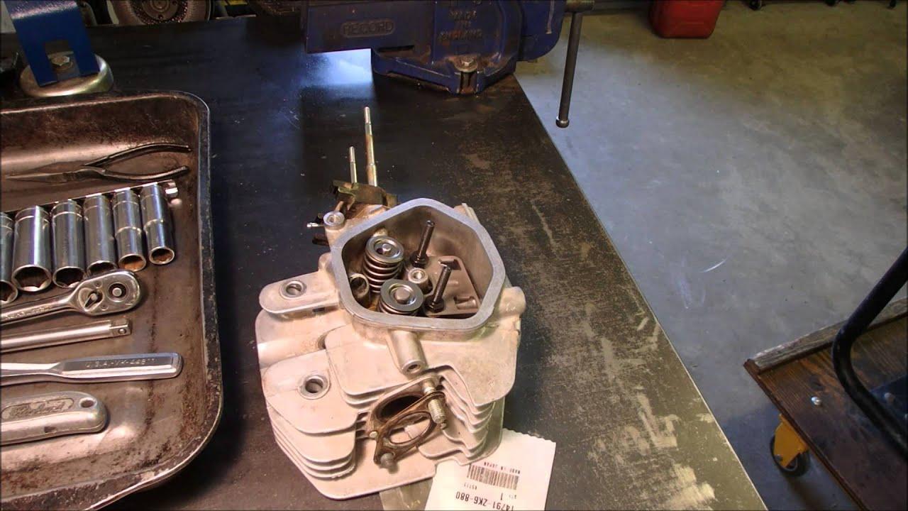 Honda Gx390 Generator Valve Repair