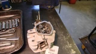 honda gx390 valve repair