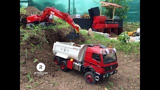 RC Truck & Construction Action @ Modellbautage June 2018
