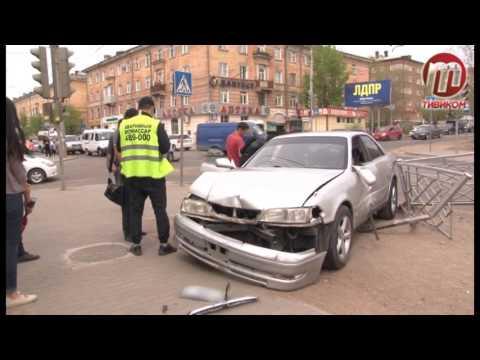Авария на перекрестке Гагарина - Добролюбова
