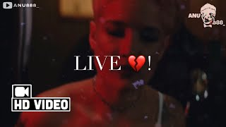 Without Me | Halsey | | Status Video | Edit By @anu888_