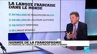 Journée de la francophonie : le français, 5e langu...