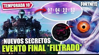 FINAL EVENT 'FILTRATED' SECRETS [ROBOT FINISHED] THEORIES 'SEASON 10' FORTNITE BATTLE ROYALE