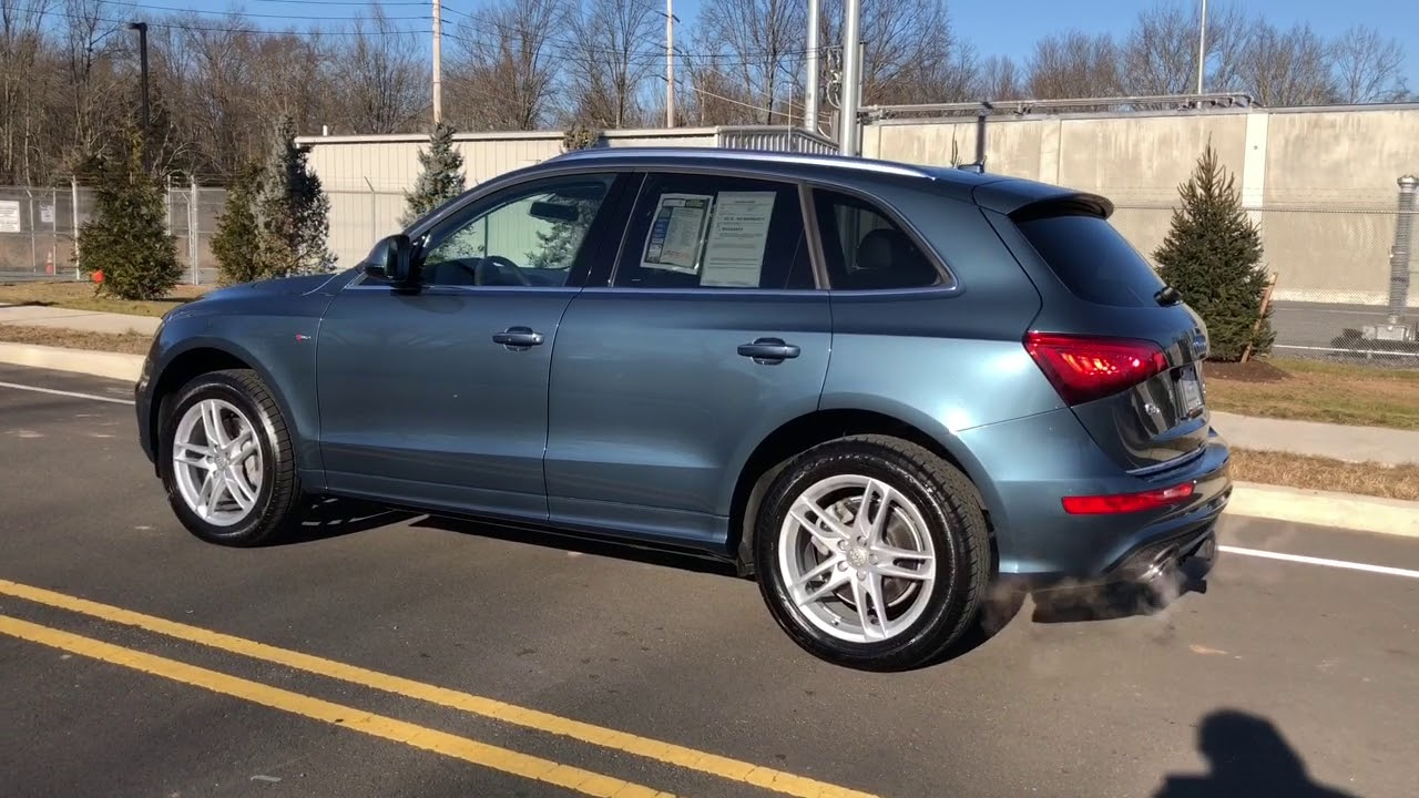2017 Audi Q5 Utopia Blue Metallic Youtube