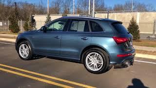 2017 Audi Q5 Utopia Blue Metallic
