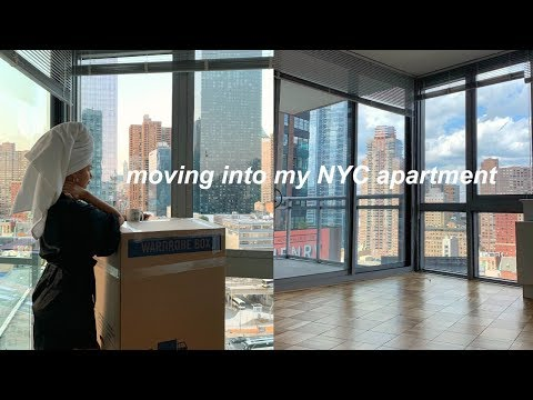 MOVING INTO MY NEW NYC APARTMENT | VLOG
