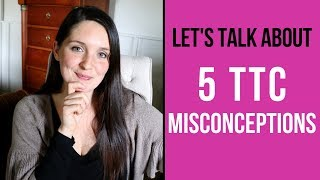 5 TTC Misconceptions! When to BD, Male Fertility, & MORE