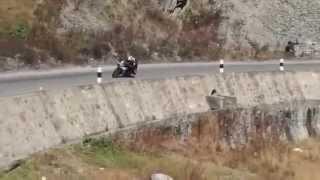 ktm rc 390 cornering nepal