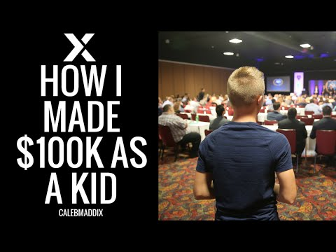 How I Made $100k by 14 Years Old | Caleb Maddix Speaks to All State Insurance
