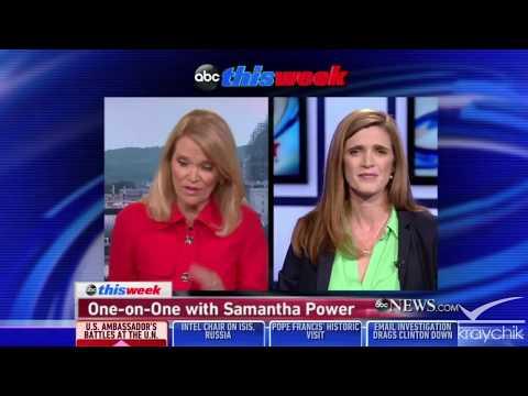 "Samantha Power defends U.N. election of Saudi Arabia to chair U.N. rights panel: ""it"