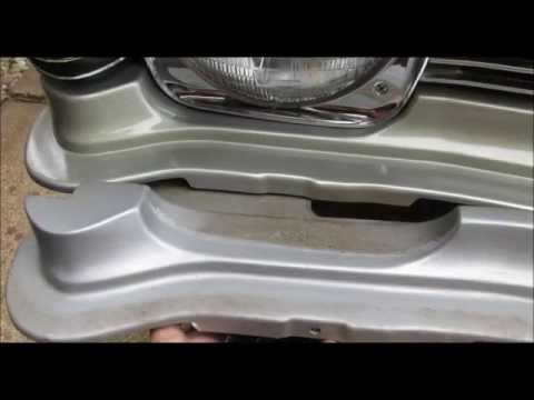 1968 Chevy II Nova Front Grill Filler Panel Replacement