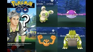 Shiny Spinda difficulty level 99999 + new shiny legendary quest groudon/kyogre!