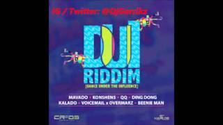 D.U.I Riddim  (Dance Under The influence) Zj-Chrome / CR203 Mix by @DjGarrikz