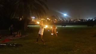 FireSpin Jam night @ Yarkon Park TLV