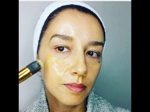mascarilla antiarrugas. efecto inmediato. (remedio natural)