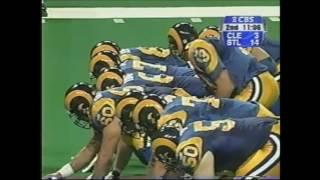 1999 Week 7 Browns vs Rams Highlights
