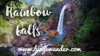 Rainbow waterfalls, Cherapunji, Meghalaya | BingeWander.com