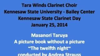 Tara Winds Clarinet Choir performing at Kennesaw State University C...