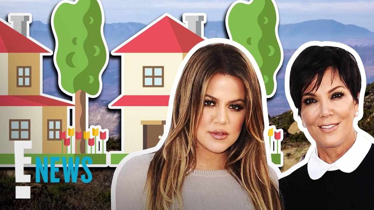 Khloe Kardashian & Kris Jenner Drop $37M on Side-by-Side Mansions | E! News