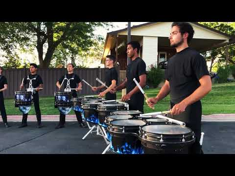 Blue Devils Drumline 2019 Warmups, Solos [HD Audio, Multi-cam]