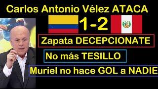Periodista ATACA Jugadores tras DERROTA de Colombia vs Perú 1-2