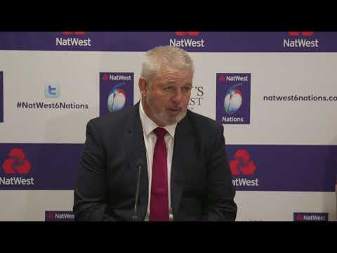 Warren Gatland Press Conference | NatWest 6 Nations
