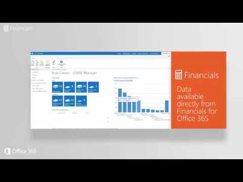 Financials for Office 365 - Cloud Accounting Software