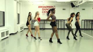 "Debbie Wilson - Commercial Heels Class - ""Partition"" - Beyonce"