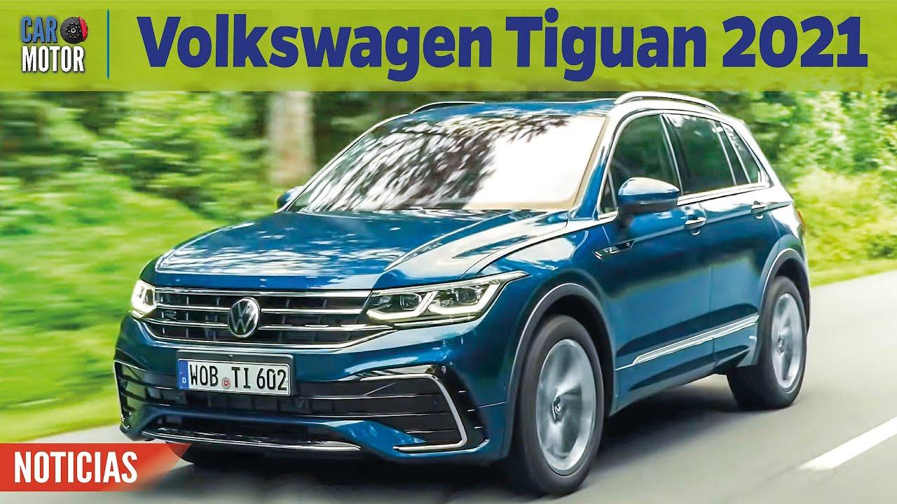 Volkswagen Tiguan 2021 - Más potencia y tecnología 😎🚗| Car Motor