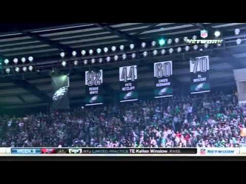 Donovan McNabb jersey retirement