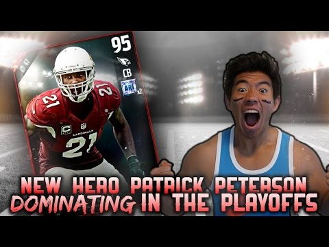 WE GET NEW HERO PATRICK PETERSON! DOMINATING THE PLAYOFFS! MADDEN 17 ULTIMATE TEAM