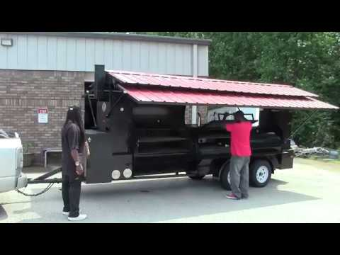 Camp Chef Mega T Rex Pro BBQ Smoker Grill Trailers for Sale BBQ Catering Events Atlanta